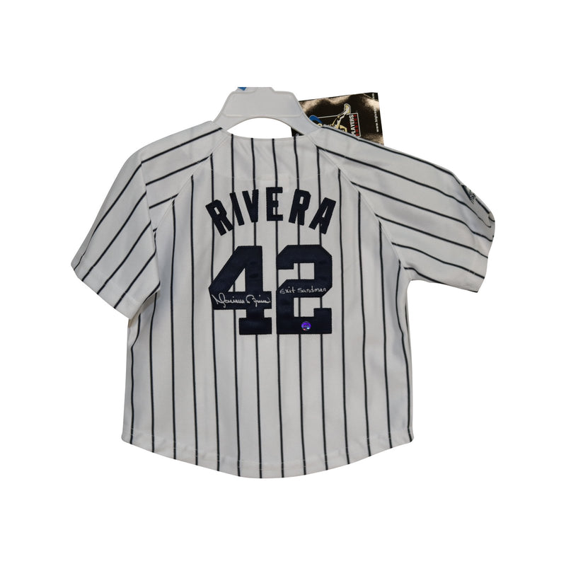 Mariano Rivera Autographed Yankees Toddler Jersey with