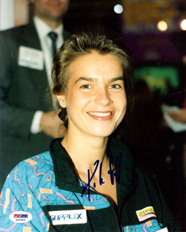 Katarina Witt Autographed 8x10 Photo PSA/DNA #S52969