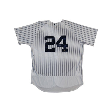 Gary Sanchez New York Yankees Autographed Yankees Home Jersey SSM Auth