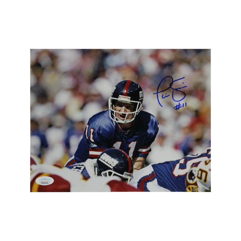Phil Simms New York Giants Autographed 8x10 Photo (JSA Authentication)