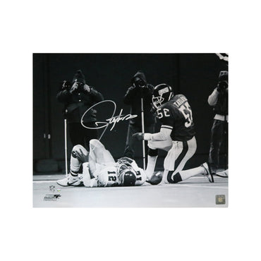 Lawrence Taylor New York Giants Autographed Sacking Cunningham 16x20 Photo