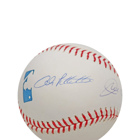 Andy Pettitte/Joe Torre New York Yankees Dual  Autographed MLB Baseball