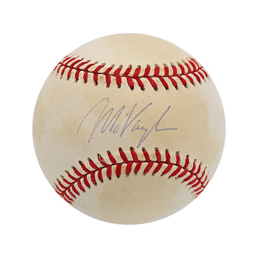 "Mo Vaughn Boston Red Sox Autographed OAL ""Toned with Faded Signature"" Baseball (Jeff Nelson LOA)"