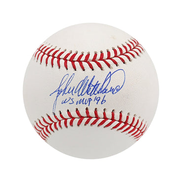 "John Wetteland New York Yankees Autographed MLB Baseball with ""WS MVP 96"" Inscription (Steiner Authenticated)\"