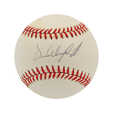 "Dave Winfield New York Yankees Autographed OAL ""Toned"" Baseball (Jeff Nelson LOA)"