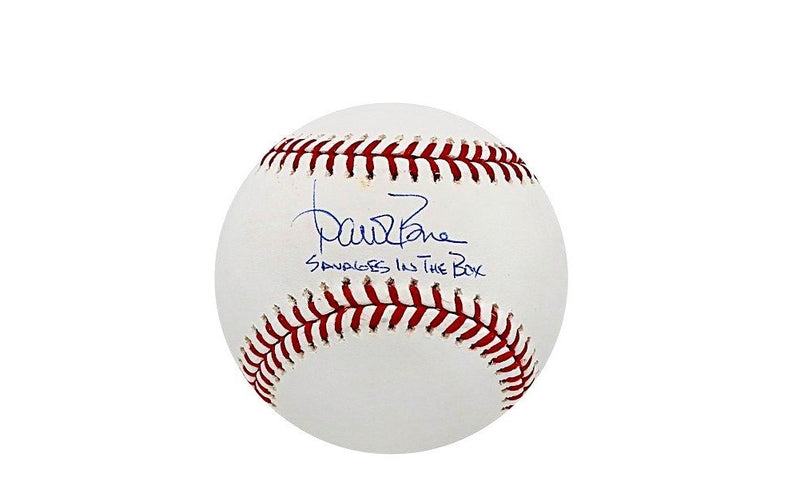 Aaron Boone NY Yankees Autographed MLB Baseball w/Savages in the Box Inscription