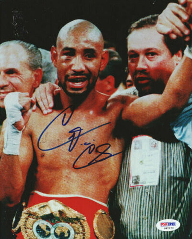 Diego Corrales Autographed 8x10 Photo PSA/DNA #S42173