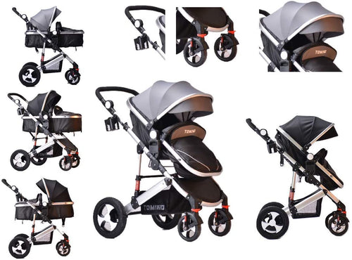 Travel System 3 in 1 Combi Stroller Buggy With Car Seat Baby Strollers Baby Prams - Do Shopping