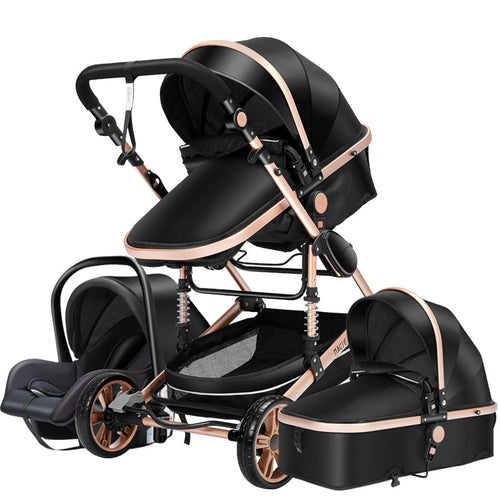 Baby Prams 3 in 1 Baby Strollers  High Landscape Baby Carriage for 0-36 Months Baby Trolley - Do Shopping