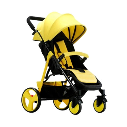 Lightweight Folding Baby Stroller Can Sit & Lie Pushchair On The Airplane Travel System - Do Shopping
