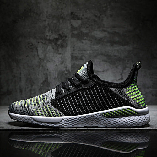 Men Sneakers Ultralight Soft Breathable Bouncy Shock Absorption Running Ball Game Sneakers - Do Shopping