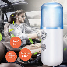 Load image into Gallery viewer, Portable Mini Nano Mist Sprayer Facial Body Nebulizer Steamer Moisturizing Skin Care Tools 30ml Face Spray Beauty Instruments - Do Shopping
