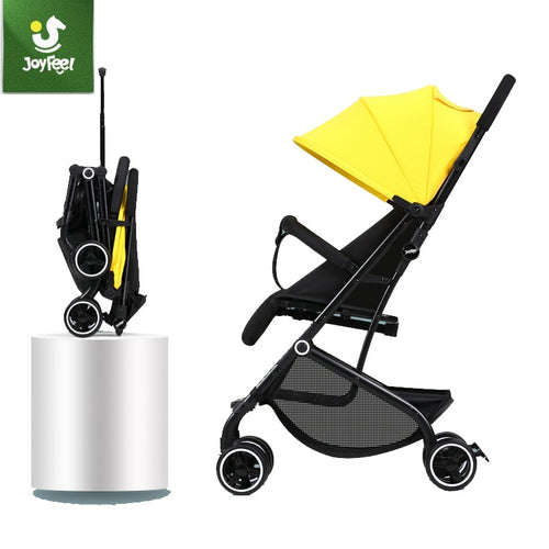 Baby Stroller Ultra Light Folding Simple Children's Trolley Can Sit Reclining High Landscape Cart - Do Shopping