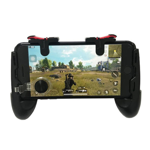 Mobile Phone Keypad for PUBG D9 4 in 1 shooting key aiming rocker 6 in 1 Shooter Trigger Fire Button controller free shipping - Do Shopping