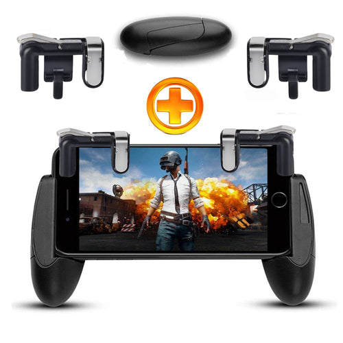 Mobile phone Game Fire Button Controller and joystick Survival Game grip R1L1 Triggers for Knives Out/PUBG/Rules - Do Shopping