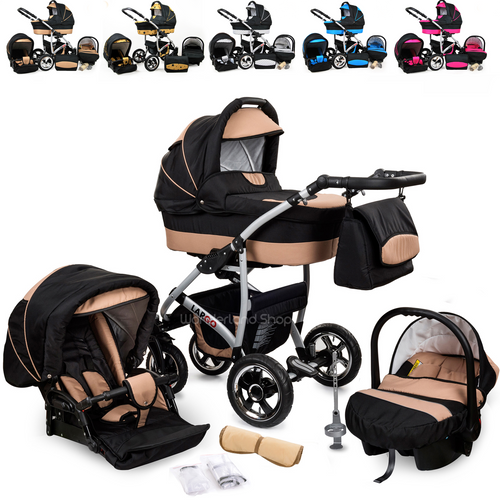 Baby Pram For Newborn Car Seat 3 in 1 Travel System Baby Strollers - Do Shopping