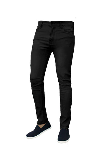 Mens Jeans Denim Super Stretch  Skinny Slim Fit Jeans - Do Shopping