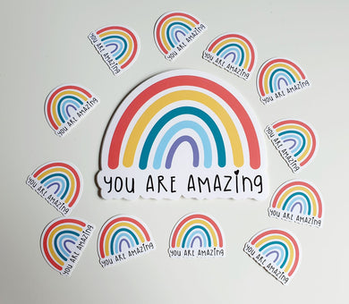 Amazing Rainbow - Die Cut Sticker