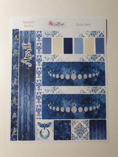 Mystic Moon - Monthly Hobonichi Weeks Sticker Kit