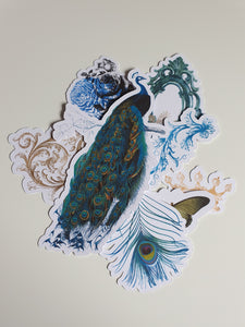 Pretty as a Peacock - Ephemera