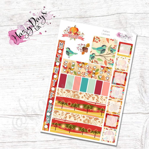 Fallen Leaves - Weekly Hobonichi Weeks Sticker Kit