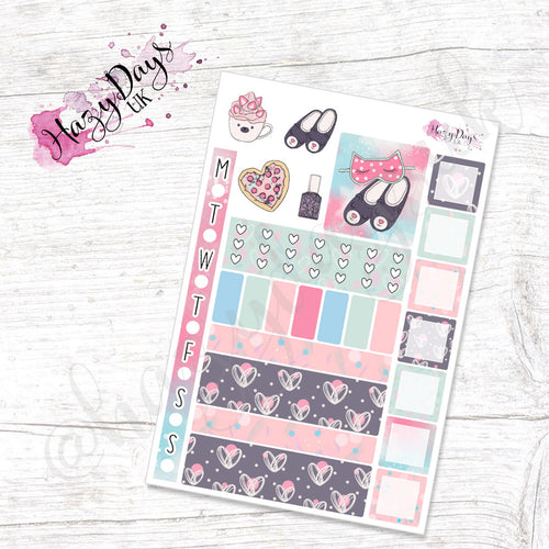 PJ Party - Weekly Hobonichi Weeks Sticker Kit