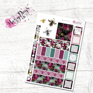 Queen Bee - Weekly Hobonichi Weeks Sticker Kit