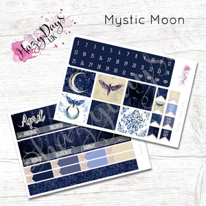 Mystic Moon - Monthly Planner Stickers