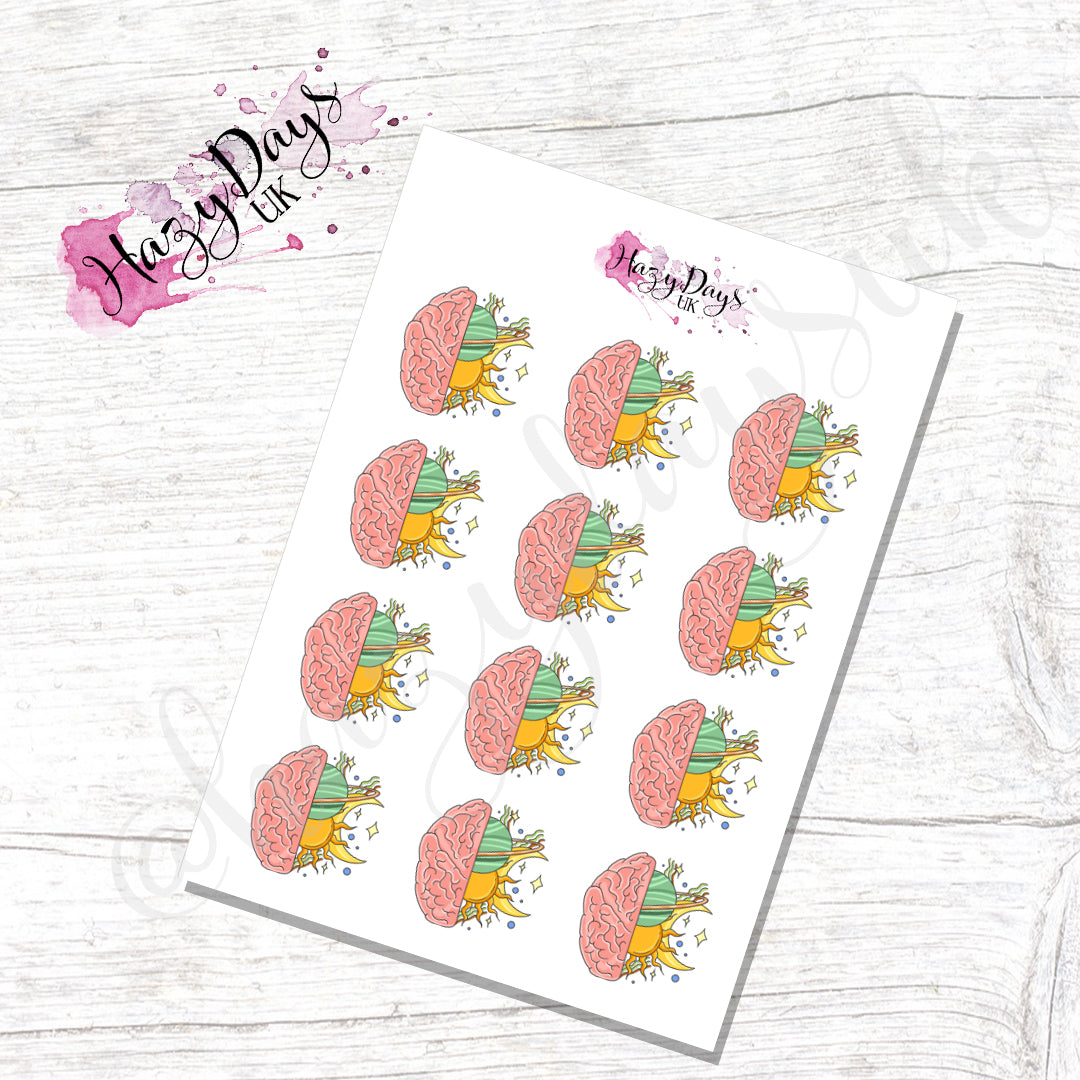 Logic v Magic Illustrated Stickers - Icon Planner Stickers