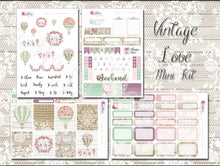 Load image into Gallery viewer, Vintage Love - Weekly ECLP Sticker Kit