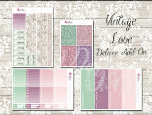 Vintage Love - Weekly ECLP Sticker Kit