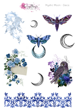 Load image into Gallery viewer, Mystic Moon - Weekly ECLP Sticker Kit