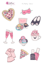 Load image into Gallery viewer, PJ Party - Weekly Sticker Kit