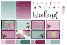Load image into Gallery viewer, Queen Bee - Weekly Sticker Kit