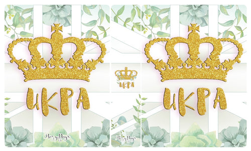 UKPA Sticker Album - 60 pocket 5x7