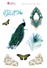 Load image into Gallery viewer, Pretty as a Peacock - Weekly Sticker Kit