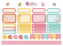 Load image into Gallery viewer, Easter Bunnies - 2 page sticker kit