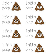 Load image into Gallery viewer, Toilet/Potty Toddlers Training Reward Stickers