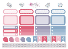 Load image into Gallery viewer, Precious Gems Pink - Weekly Mini Kit