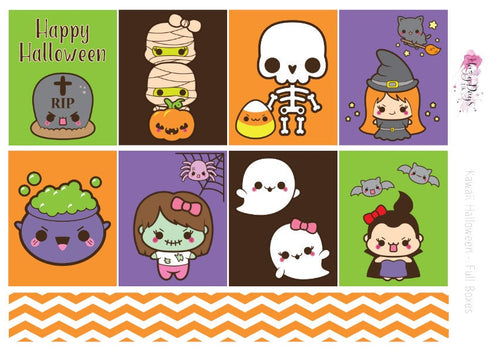 Kawaii Halloween - Weekly Mini Kit
