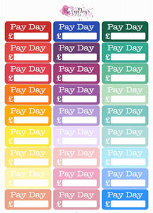 Rainbow - Pay Day Reminders