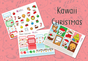Kawaii Christmas - Weekly Mini Kit