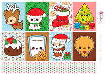 Load image into Gallery viewer, Kawaii Christmas - Weekly Mini Kit