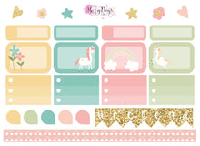 Load image into Gallery viewer, I Believe in Unicorns - Weekly ECLP Sticker Kit