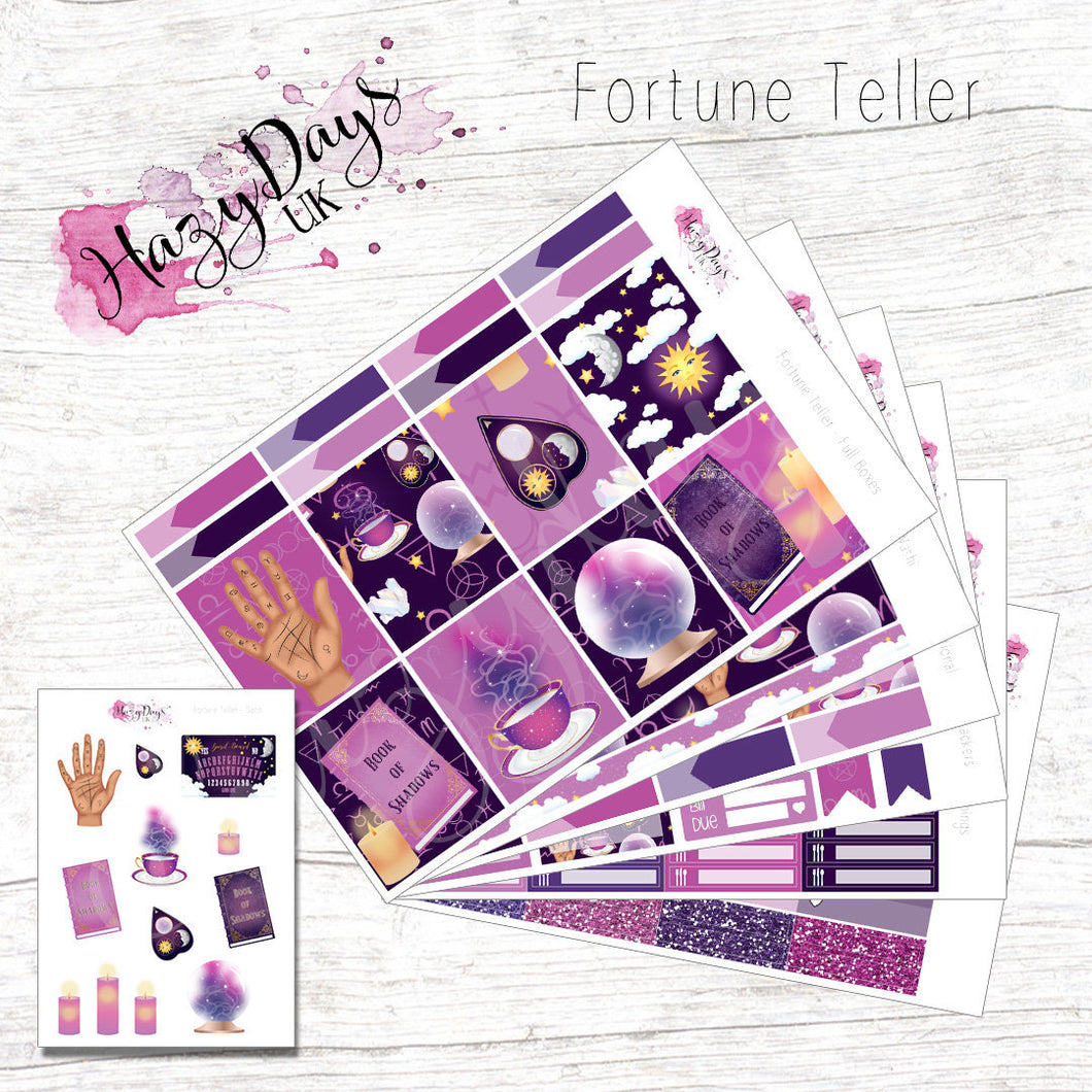 Fortune Teller - Weekly ECLP Sticker Kit