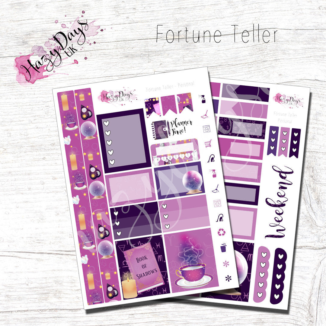 Fortune Teller - Personal Planner Sticker Kit