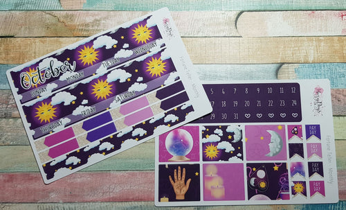 Fortune Teller - Monthly Planner Stickers