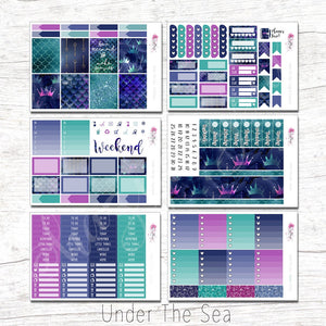Under The Sea - Weekly Sticker Kit