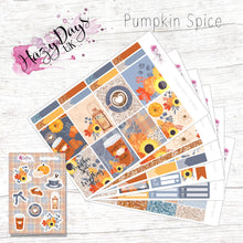 Load image into Gallery viewer, Pumpkin Spice - Weekly ECLP Sticker Kit