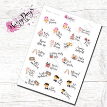 Load image into Gallery viewer, Wedding To Do List Engagement Planner Stickers